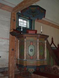 Gammel kyrka  Sarna